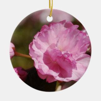 El cerezo florece ornamento ornamento de navidad