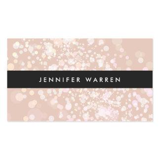 El chapoteo del color adentro se ruboriza rosa par plantilla de tarjeta de negocio