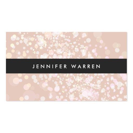 El chapoteo del color adentro se ruboriza rosa plantilla de tarjeta de negocio