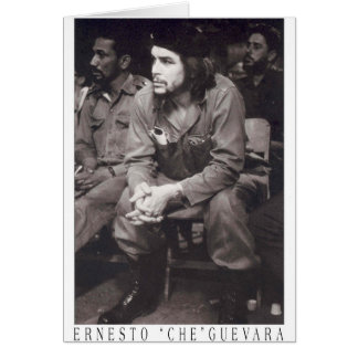 EL Che Guevara Tarjeta De Felicitación