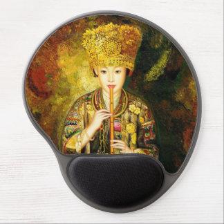 El chica de la cultura de Zhangbo Hmong es señora  Alfombrilla Con Gel