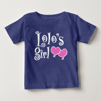 El chica de Lolo Camiseta De Bebé