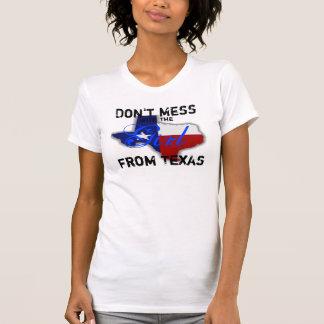 El chica de Tejas Camiseta