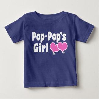 El chica del estallido del estallido camiseta de bebé
