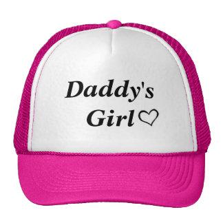 El chica del papá gorros bordados
