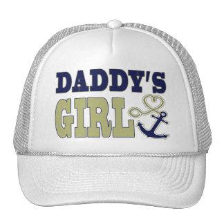El chica del papá náutico gorro