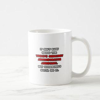 El chiste administrativo más grande de Asst del mu Tazas De Café