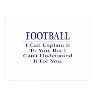 El chiste del entrenador de fútbol… explica para postal