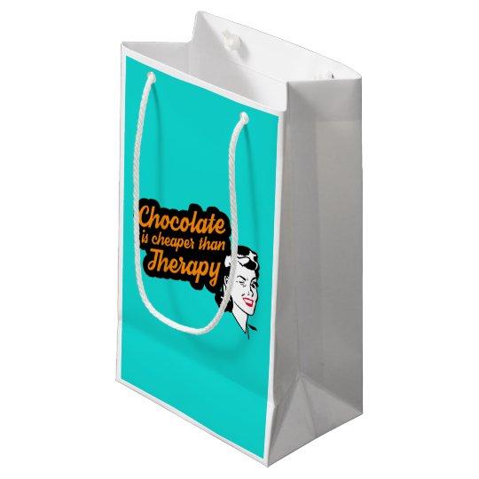 El chocolate es más barato que bolso del regalo de bolsa de regalo pequeña