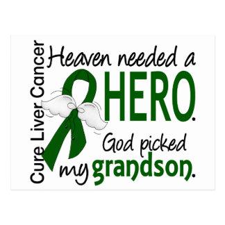 El cielo del cáncer de hígado necesitó a un nieto postal
