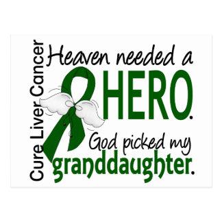 El cielo del cáncer de hígado necesitó a una nieta postal