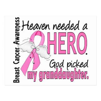El cielo necesitó a un cáncer de pecho de la nieta postal
