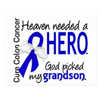 El cielo necesitó a un nieto del cáncer de colon postal