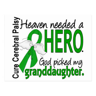 El cielo necesitó a una nieta del CP del héroe Postal