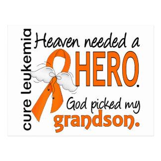 El cielo necesitó una leucemia del nieto del héroe postal