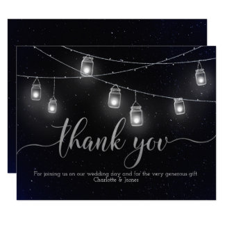 El cielo nocturno de las luces de las luciérnagas invitación 10,8 x 13,9 cm