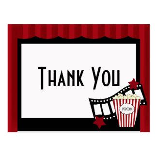 El cine del KRW le agradece postal