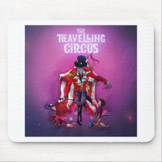 El circo que viaja alfombrilla de ratón