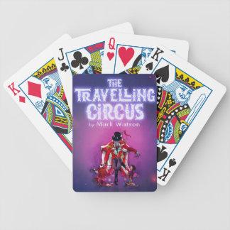 El circo que viaja baraja de cartas bicycle