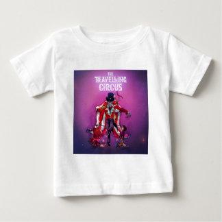 El circo que viaja camiseta de bebé