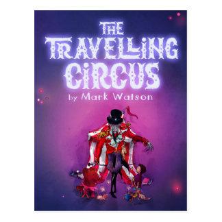 El circo que viaja postal