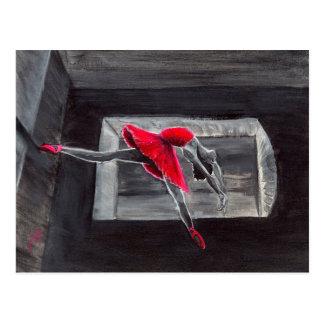 El cisne rojo postal