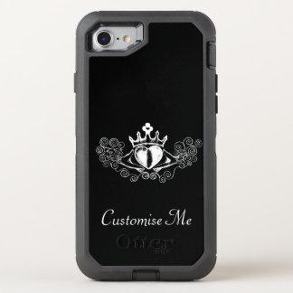 El Claddagh (blanco) Funda OtterBox Defender Para iPhone 7