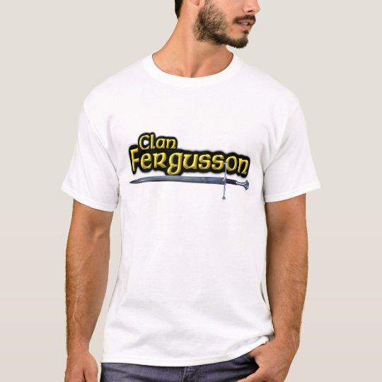 El clan Fergusson inspiró a escoceses Camiseta