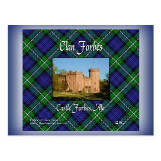 El clan Forbes se escuda la cerveza inglesa de Postal