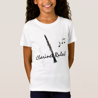 El Clarinet gobierna la camiseta de las notas de