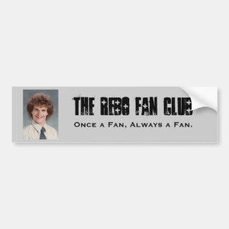 El club de fans de Rebo, una vez fan, Alwa… Pegatina Para Coche