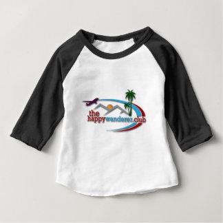 El club feliz del vagabundo camiseta de bebé
