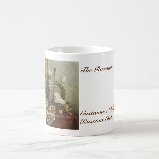 El club ruso del ruso de Gustavus del té Taza De Café