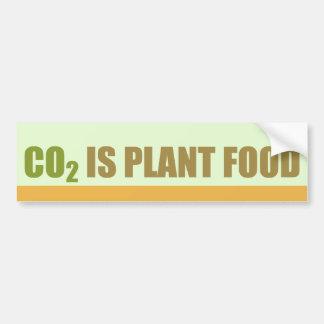El CO2 es fortalecedor de plantas Pegatina De Parachoque