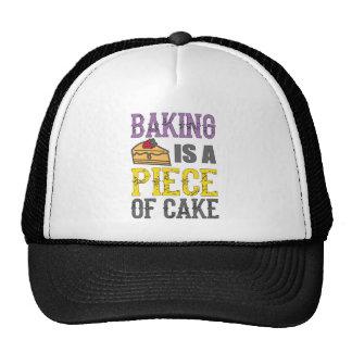 El cocer - la hornada es un pedazo de torta gorros