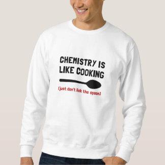 El cocinar de la química sudadera