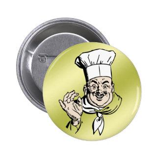 El cocinero aprueba chapa redonda de 5 cm