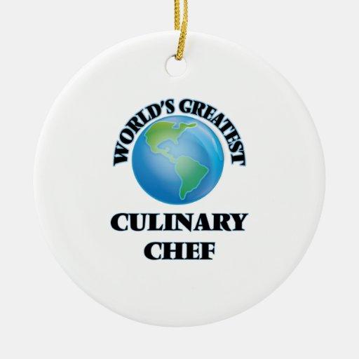 El cocinero culinario más grande del mundo ornato