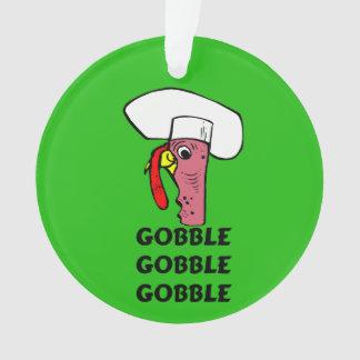 El cocinero de Turquía de la acción de gracias