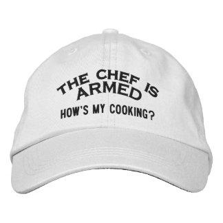 El cocinero es 2 ARMADOS Gorras De Béisbol Bordadas