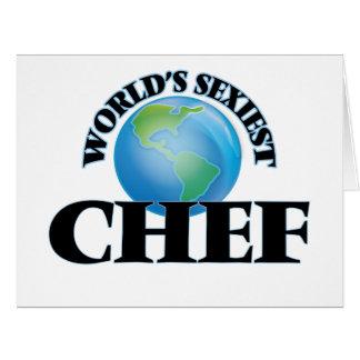 El cocinero más atractivo del mundo felicitacion