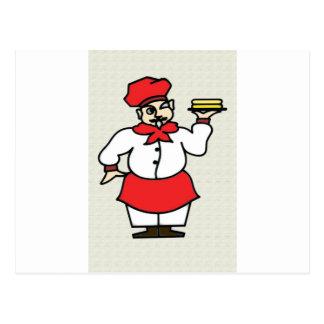 El cocinero postales