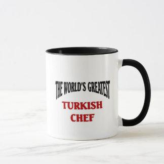 El cocinero turco más grande taza