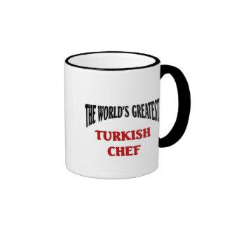 El cocinero turco más grande taza de dos colores