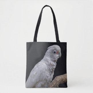 El Cockatoo de Goffin por todo bolso de la
