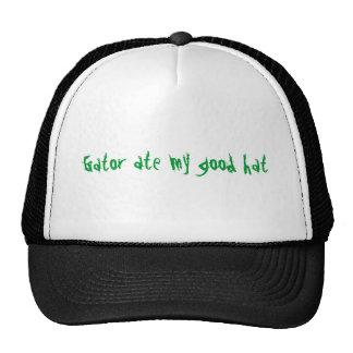El cocodrilo comió mi buen gorra
