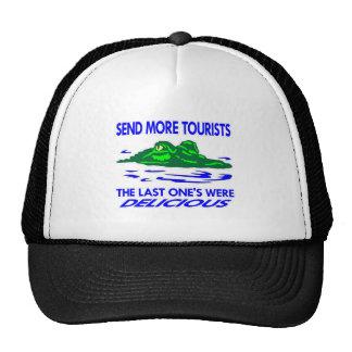 El cocodrilo envía a más turistas gorro