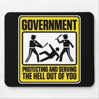 El cojín de ratón amonestador del gobierno tapete de raton