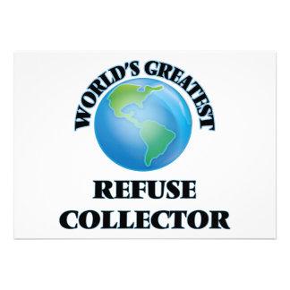El colector de la basura más grande del mundo invitacion personal