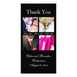 El collage simple le agradece tarjeta de la foto ( tarjeta personal con foto
